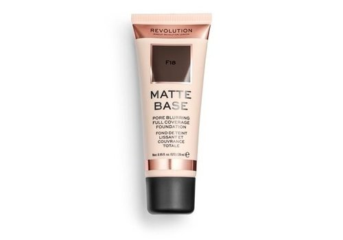 Makeup Revolution Matte Base Foundation F18