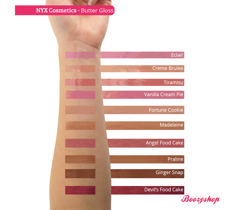 NYX Professional Makeup Butter Gloss Vanilla Cream Pie