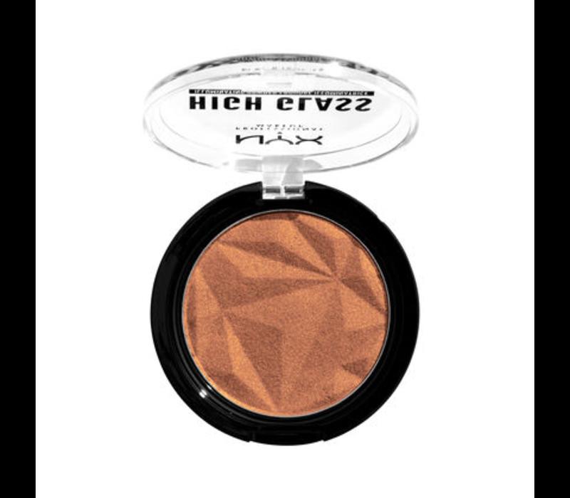 NYX Professional Makeup High Glass Illuminating Powder Golden Hour