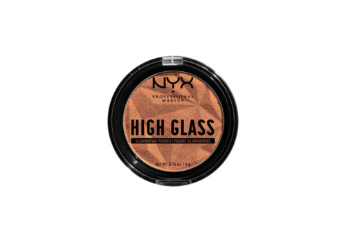 NYX Professional Make Up High Glass Illuminating Powder Golden Hour