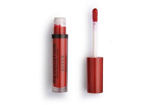 Makeup Revolution Sheer Lipgloss 134 Ruby