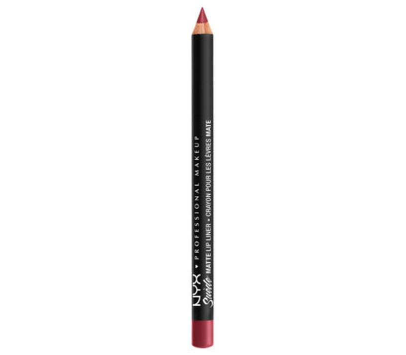 NYX Professional Makeup Suede Matte Lip Liner Cherry Skies