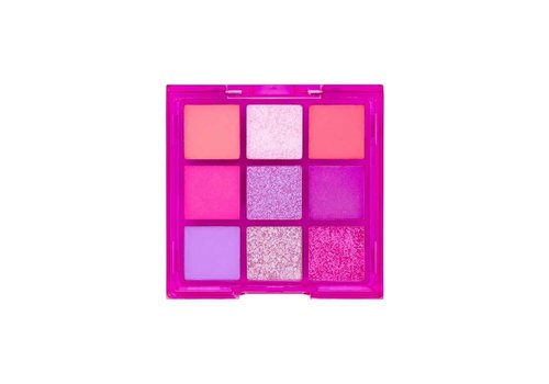 W7 Cosmetics Vivid Pressed Eyeshadow Palette Punchy Pink