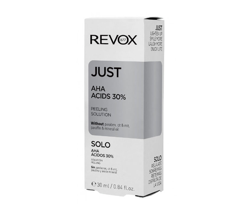 Revox Just 30% AHA Acids Peeling Solution