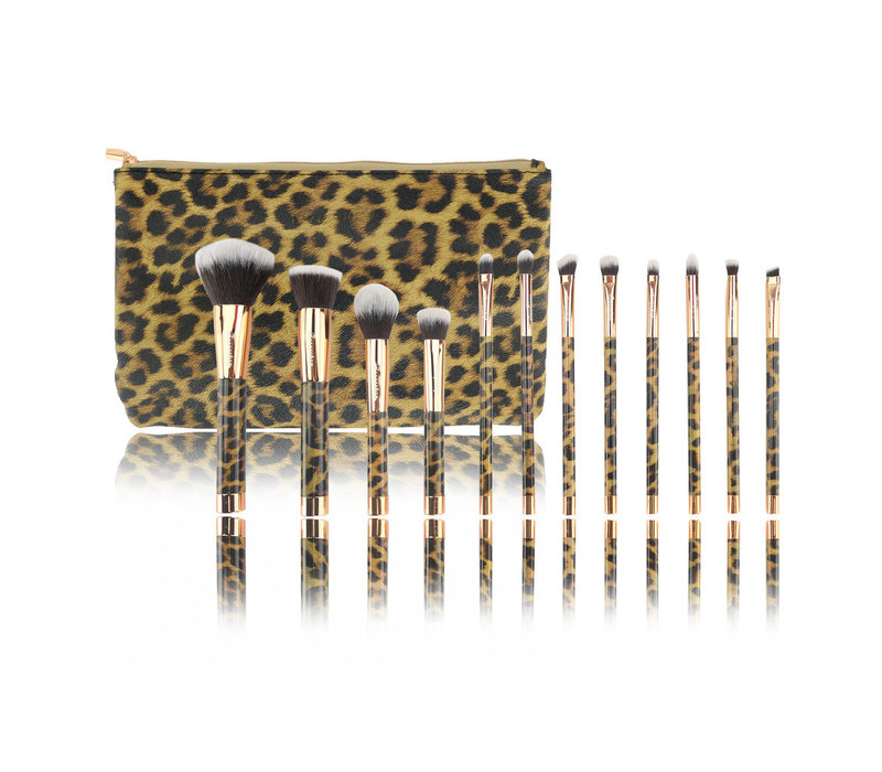 Boozyshop 12 pc. Brush Set Panther
