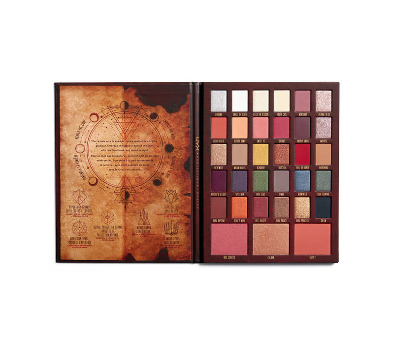 NYX Professional Makeup Chilling Adventures of Sabrina Spellbook Palette