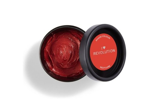 I Heart Revolution Rainbow Paste Removable Hair Colour Red Flame