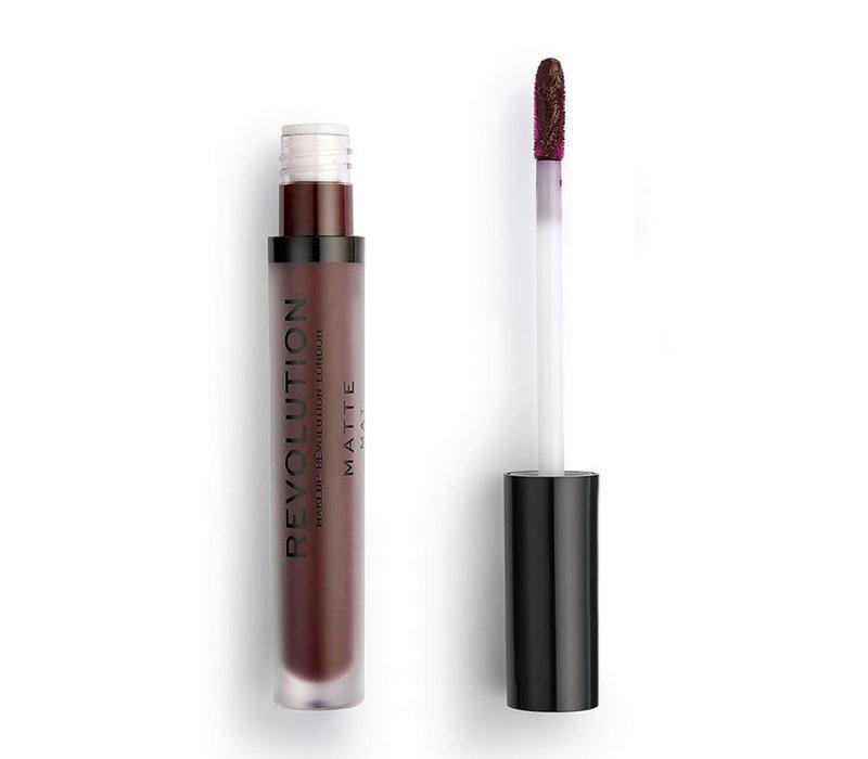 Makeup Revolution Matte Liquid Lipstick 148 Plum