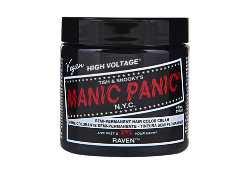 Manic Panic Classic High Voltage Semi-Permanente Haarverf Raven