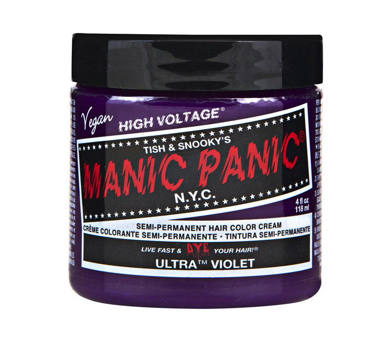 Manic Panic Classic High Voltage Semi-Permanent Hair Colour Ultra Violet