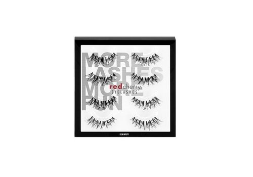 Red Cherry 4Pack Lashes Demi Wispy