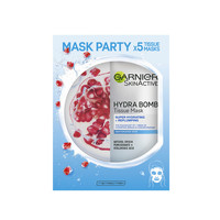 Garnier Skincare Hydra Bomb Pomegranate Tissue Mask Party Pack