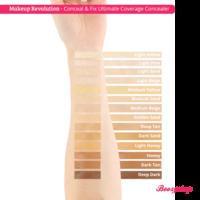 Makeup Revolution Conceal & Fix Ultimate Coverage Concealer Light Honey