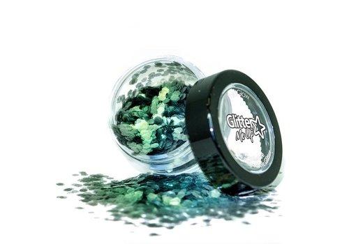 PaintGlow Bio Degradable Chunky Loose Glitter Sage