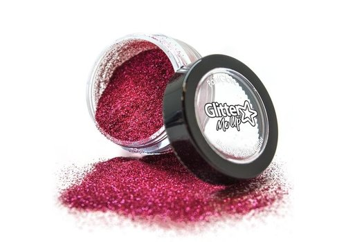 PaintGlow Bio Degradable Fine Glitter Berry Crush