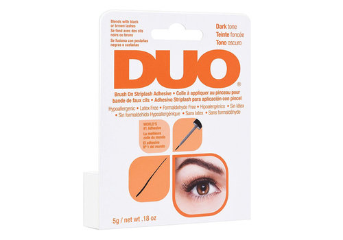 DUO Brush On Adhesive Dark with Vitamins