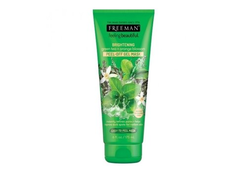 Freeman Face Peel-off Gel Mask Green Tea and Orange Blossom