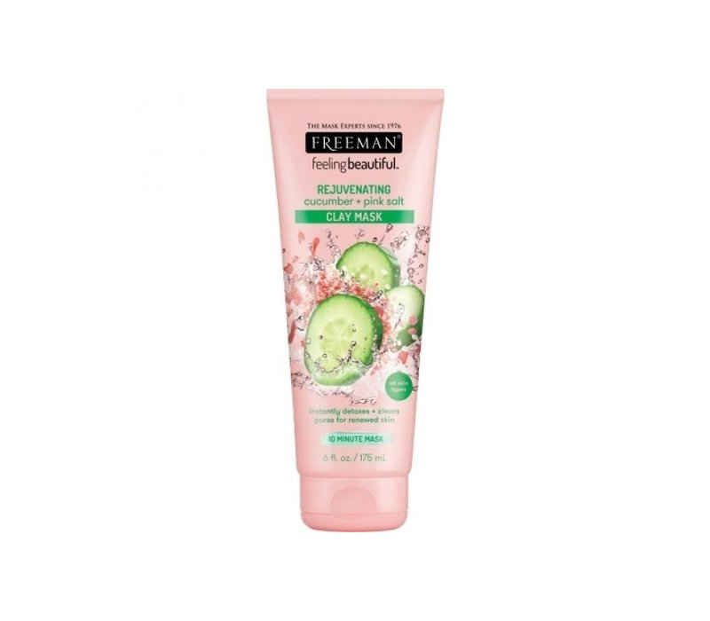Freeman Face Clay Mask Cucumber and Pink Salt