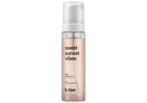 B.Tan Sweet Sunset Vibes Gradual Glow Light Mousse