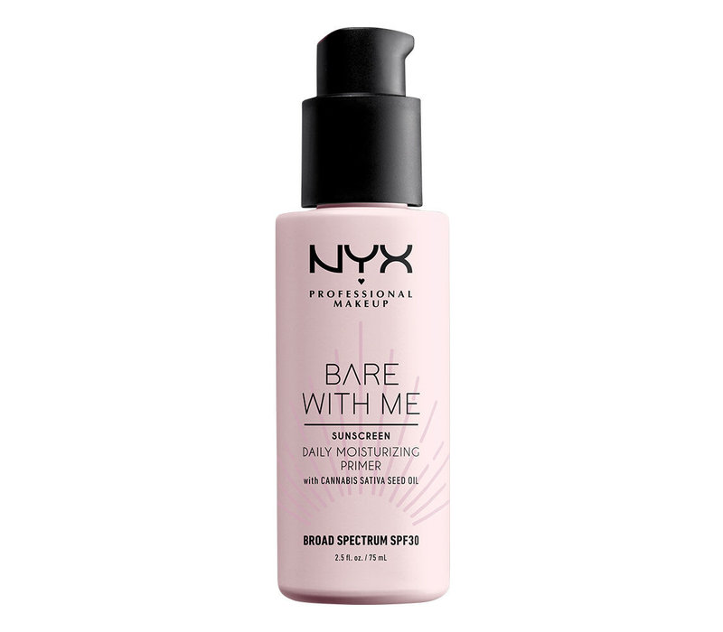 NYX Professional Makeup Bare With Me Hemp SPF 30 Daily Moisturizing Primer