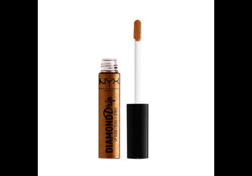 NYX Professional Makeup Diamond Drip Lip Gloss Basket Of Gold