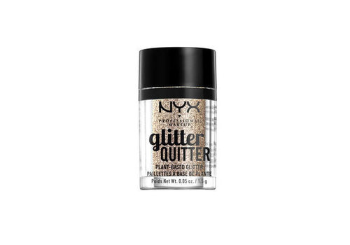 NYX Professional Makeup Glitter Quitter Plant Based Glitter Gold