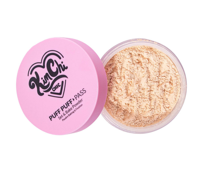 KimChi Chic Beauty Puff Puff Pass Set & Bake Powder Banana