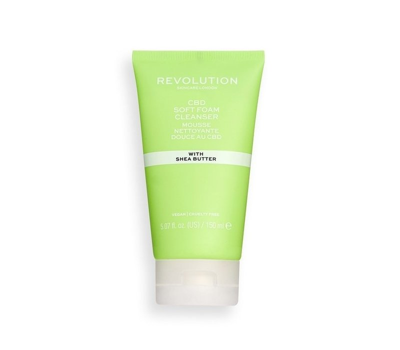Revolution Skincare CBD Soft Foam Cleanser