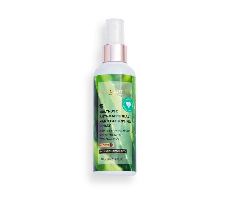 Makeup Revolution Aloe Vera Hand Cleansing Spray