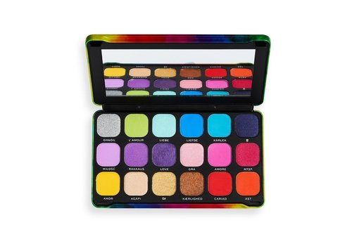Makeup Revolution Forever Flawless We Are Love Palette