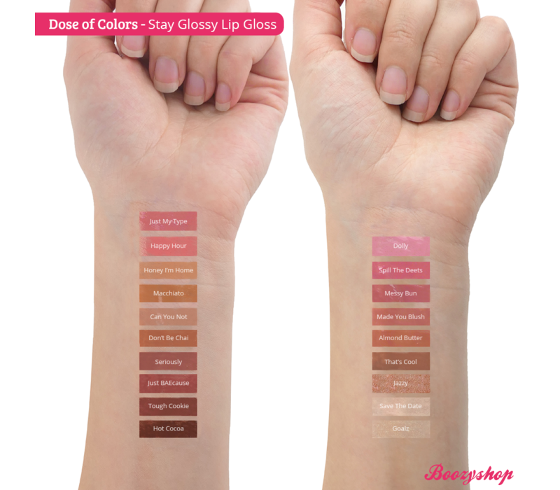 Dose of Colors Stay Glossy Lip Gloss Hot Cocoa