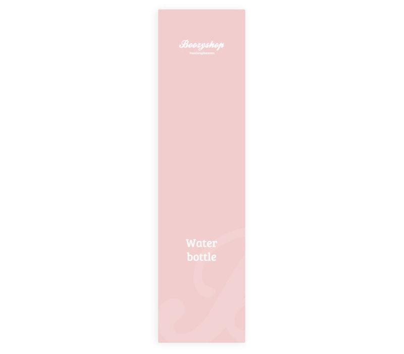 Boozyshop Soft Pink Water Bottle