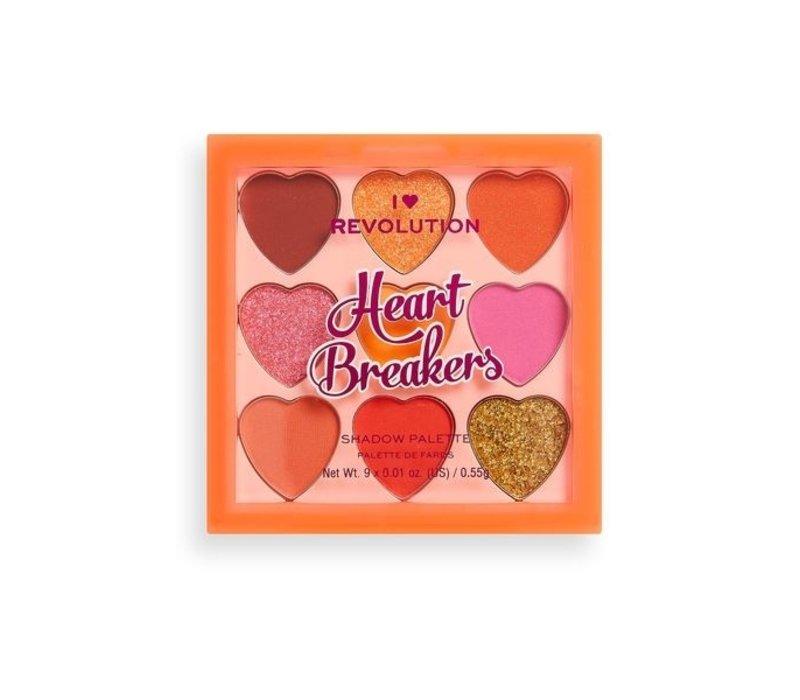I Heart Revolution Heartbreakers Palette Fiery