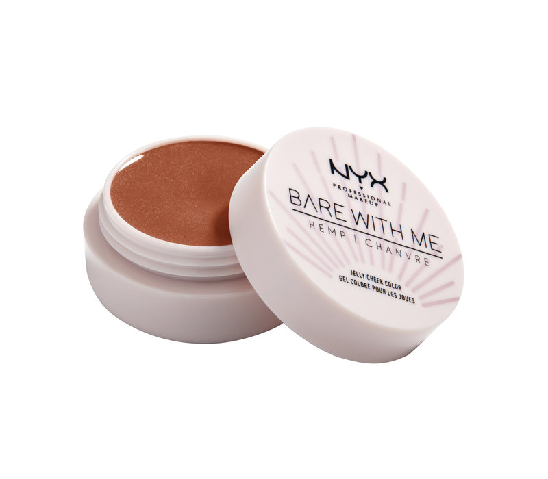 NYX Professional Makeup Bare With Me Hemp Jelly Cheek Color Sizzling Sun