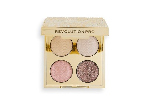 Revolution Pro Ultimate Crystal Eye Quad Champagne Crystal