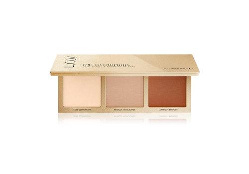 L.O.V Cosmetics Highlighting & Bronzing Palette 010 Rose Addiction