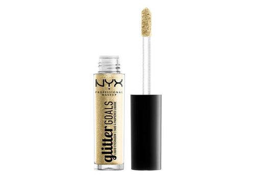 NYX Professional Makeup Glitter Goals Liquid Eyeshadow Industrial Beam