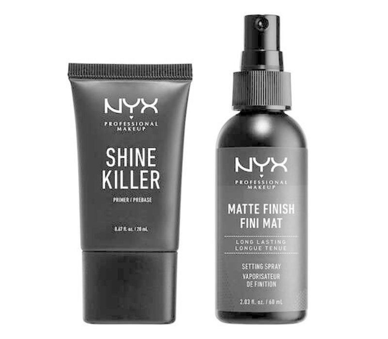 NYX Professional Makeup Diamonds & Ice, Please Prime And Set Kit