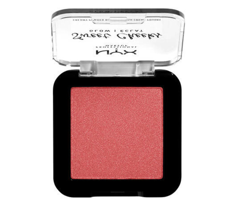 NYX Professional Makeup Sweet Cheeks Creamy Powder Blush Glow Blush Citrine Rose