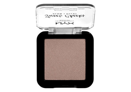 NYX Professional Makeup Sweet Cheeks Creamy Powder Blush Glow Blush So Taupe