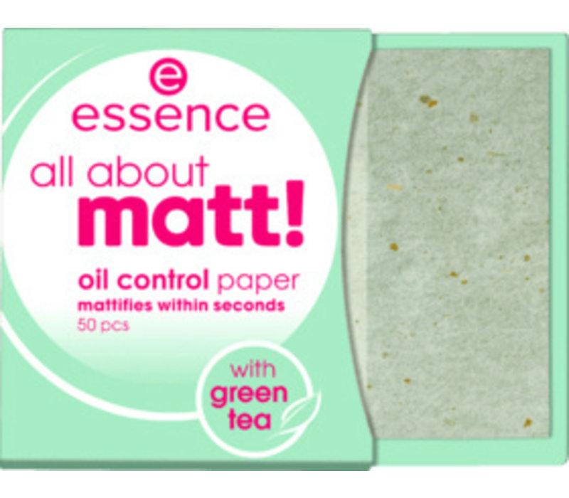 Essence All About Matt! Oil Control Paper