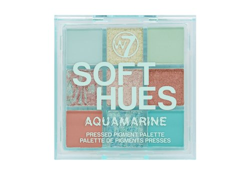W7 Cosmetics Hues Pressed Pigment Eyeshadow Aquamarine