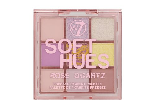 W7 Cosmetics Hues Pressed Pigment Eyeshadow Rose Quartz