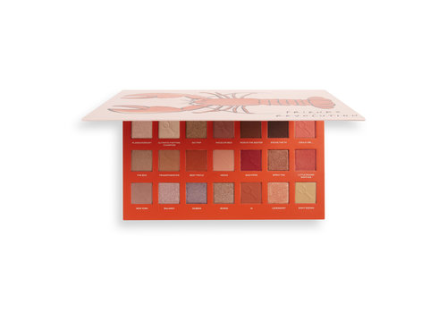 Makeup Revolution x Friends He's Her Lobster Shadow Palette