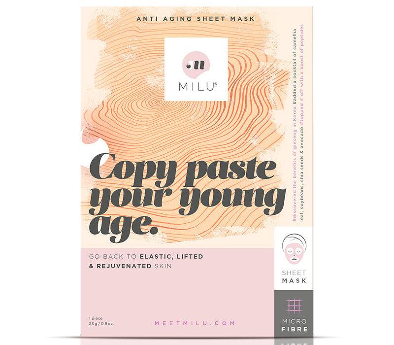 Milu Anti Aging Sheet Mask