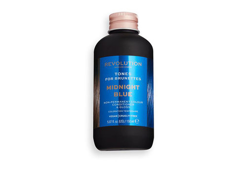Revolution Hair Hair Tones For Brunettes Midnight Blue