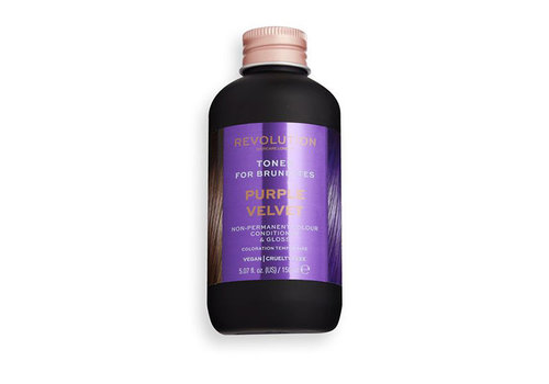 Revolution Hair Hair Tones For Brunettes Purple Velvet