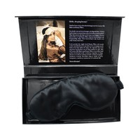 Beauty Pillow Luxury Silk Mask Black