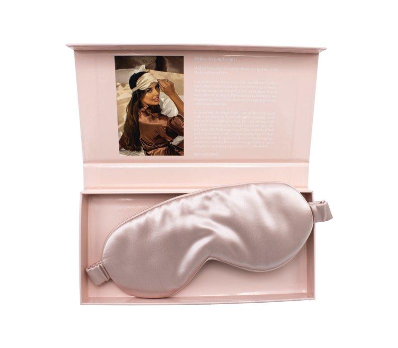 Beauty Pillow Luxury Silk Mask Pink