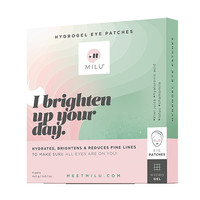 Milu Hydrogel Eye Patches 4 Pack
